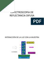 Espectroscopia de Reflectancia Difusa Español