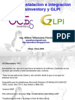 Taller de Instalacion e Integracion de OcsInventory y GLPI