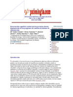 Revista Electrónica de Psicología (Obesidad)