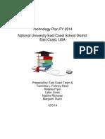 eastcoastteama tech plan tempfinal doc 2