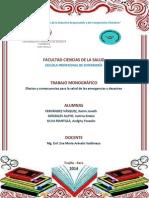 Monografia Emergencias y Desastres