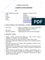 Curriculum Ing. Acero