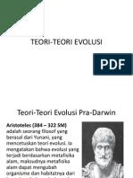 Teori-teori Evolusi 1