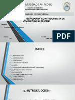 Aportes de La Tecnologiaa Constructiva en La Revolucion Industrial
