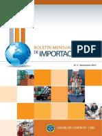 Boletín Importación  2013-11