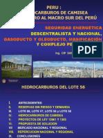 CONGRESO Hidrocarburos de CAMISEA 2012 Sandra Chevarría Lazo 29 Oct. OKOK