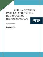 Requisitos Para Exportación de Productos Pesqueros.siicex