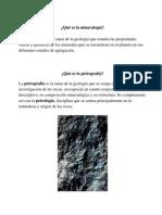 Qué Es La Mineralogía