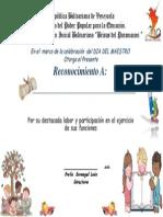 diploma de edu8cacion inicial