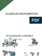 Clase de Instrumentos