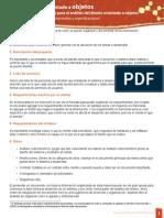 Documentación Para Levantamientos y Especificaciones
