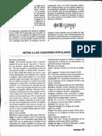 Notas de La Música Ecuatoriana