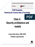 Domain4_Security Architecture & Models