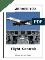 Embraer 190-Flight Controls