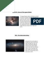 astronomy eportfolio
