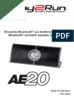 Enceinte Bluetooth® sur batteries avec micro