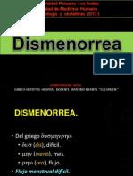 Dismenorrea