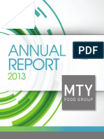 MTY Annual Report 2013 - Management Solutions