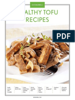 Healthy Tofu Recipes - 8 recipes from Eating Well Magazine