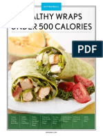 Healthy Wraps under 500 calories
