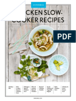 Chicken Slow Cooker - 8 recipes from EatingWell Magazine