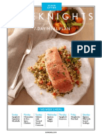 Clean Eating - 7 Dinner Meal Plan