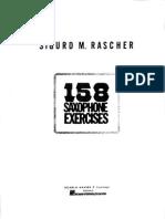 Studi - Rascher - 158 Saxophone Exercises