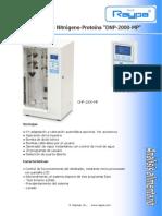 Destilador Raypa Nitrogeno Proteina