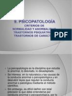 9. PSICOPATOLOGÍA (1)