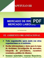 Cap. III Mercado Rrhh y Mercado Laboral