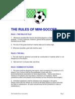 Rules of Mini Soccer.PDF