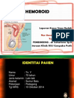 Laporan Kasus Hemoroid Marini