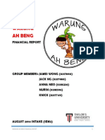 Real Warung Ah Beng Financial Report