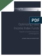 Optimizing Fixed Income Funds Blackrock