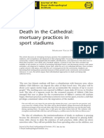 Death in the Cathedral Mortuary Practices in Sport Stadiums