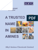 Alkyl Amines Annualreport