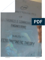 Electromagnatic Theory