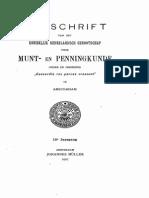 Bijdrage tot de geschiedenis van het Geldersche muntwezen / [J.S. van Veen]