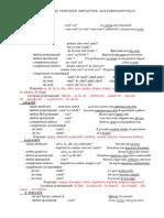 Cazurile Şi Funcţiile Sintactice Ale Substantivului