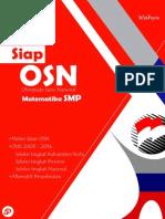 Buku Siap OSN Matematika SMP 2015