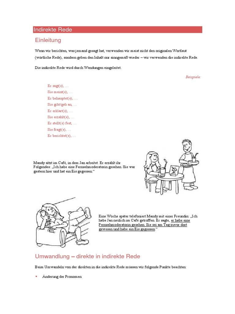 1532248053v1 - Indirekte Rede Beispiele