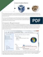 Como instalar OS X Mountain Lion en Virtualbox