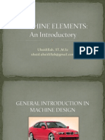 Machine Elements w2-w3