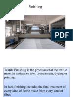 Finishing of Textiles in epyllion