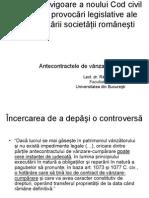 Panel IV - Razvan Dinca - Antecontractele de Vanzare