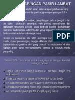 SARINGAN PASIR LAMBAT (SPL).ppt