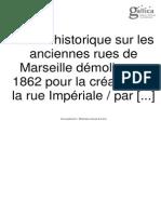 Anciennes Rues de Marseille
