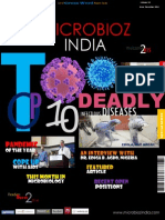 Top 10 Deadly Infectious Diseases,Microbioz India,December 2014 Issue