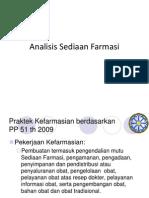 Analisis Sediaan Farmasi S2 Kimia Terapan.ppt
