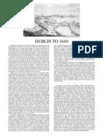 Dublin to 1610